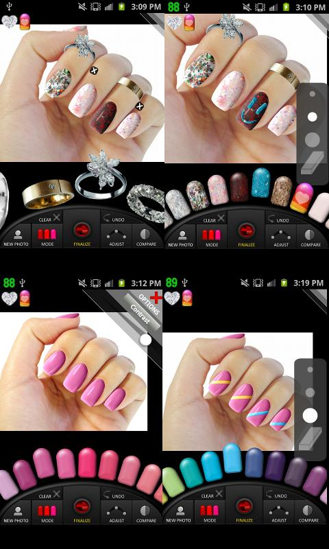 Virtual acrylic nail salon games great photo blog about for A nail salon game