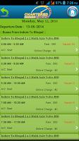 Screenshot of CharteredBus