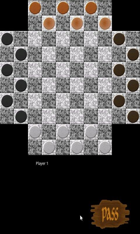 Checkers for 4 - screenshot