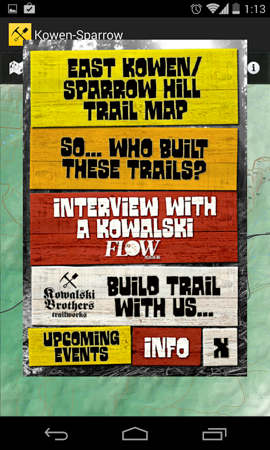 Kowalski's Trail Buddy- screenshot