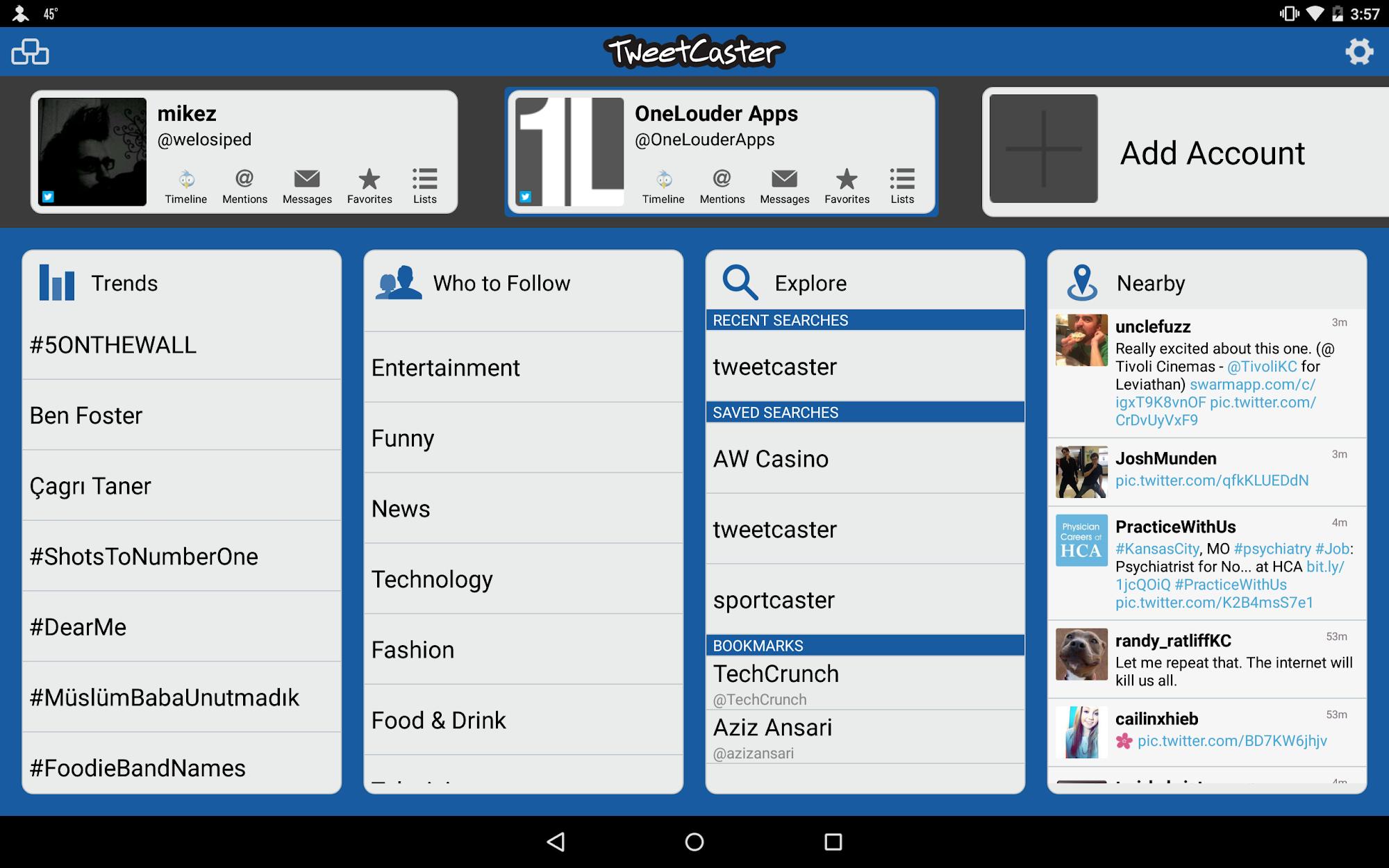 TweetCaster for Twitter screenshot #9