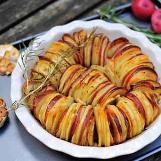 Potato and Apple Medley Roast with Shallots