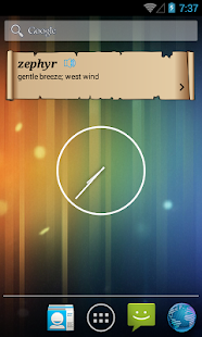 Daily Vocab Widget- screenshot thumbnail
