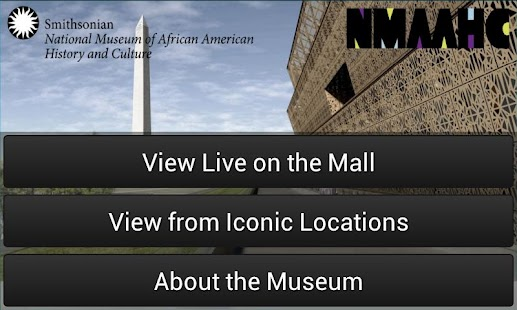 See NMAAHC- screenshot thumbnail