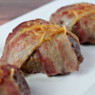 Cheesy Bacon-Wrapped Mini Meat Loaves