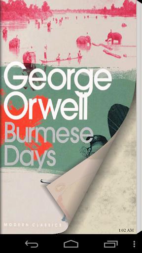 【免費書籍App】Burmese Days by George Orwell-APP點子
