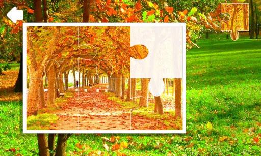 Пазлы. Осень