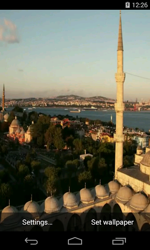 Istanbul Video Live Wallpaper
