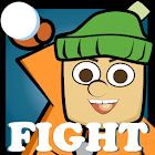 SnowBall Fight Winter Game HD icon