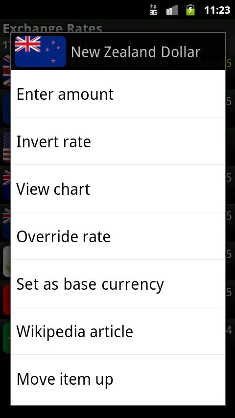 Exchange Rates (Donate) - screenshot