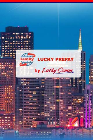 LuckyPrepay Mobile App