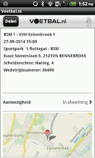 Voetbal.nl - screenshot thumbnail