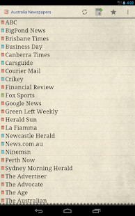 Australia Newspapers - screenshot thumbnail