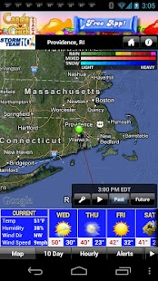 WJAR Radar - screenshot thumbnail