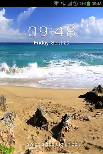 Beautiful Beach Live Wallpaper