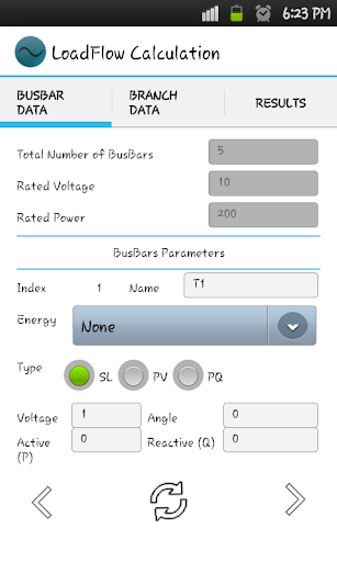 Power Flow Calculation