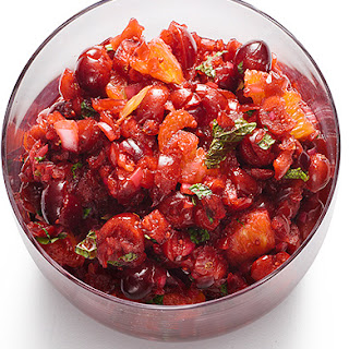 Cranberry-Orange Relish with Mint.
