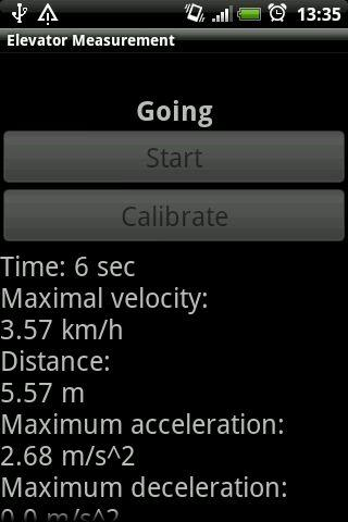 Elevator Measurement - screenshot
