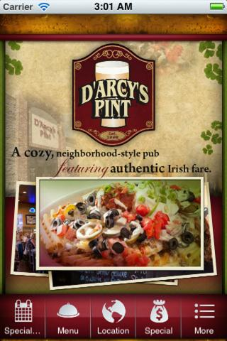 Darcys Pint - screenshot