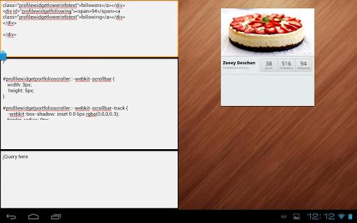 LiveWebEditor - CSS3 HTML5 IDE
