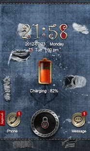 Jeans GO Launcher&Locker Theme - screenshot thumbnail