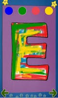 Screenshot of Alphabet Paint Lite for Kids