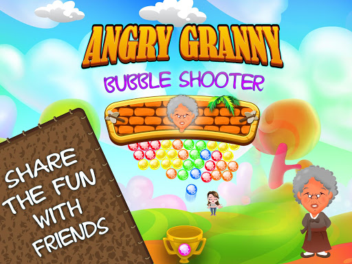 Angry Granny Bubble Shooter