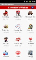 Screenshot of Valentine Day Wallpaper Wishes