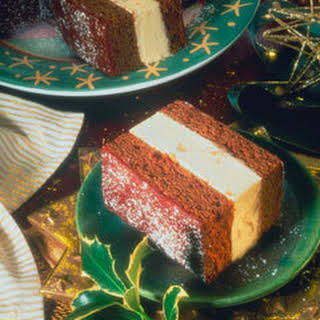 Gingerbread Ice Cream Cake.
