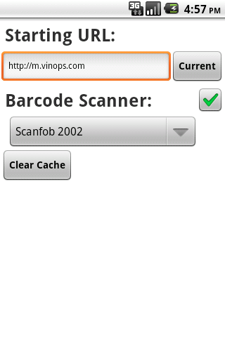 Vinops Mobile Sales - screenshot