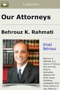 Rahmati Law Firm- screenshot thumbnail