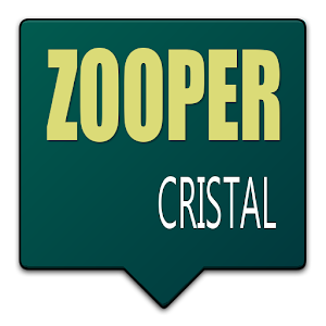 Download CRISTAL - Zooper Skin Theme v1.2
