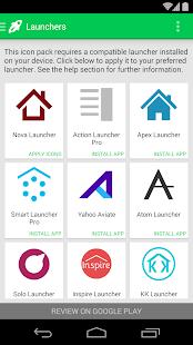 Audax - Icon Pack - screenshot