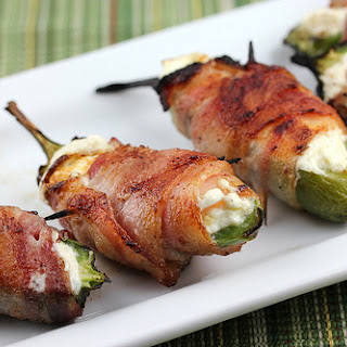 Bacon Wrapped Jalapenos.