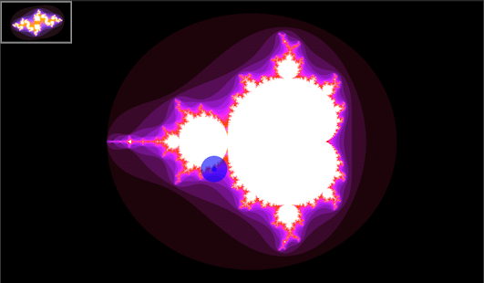 Mandelbrot Maps- screenshot thumbnail
