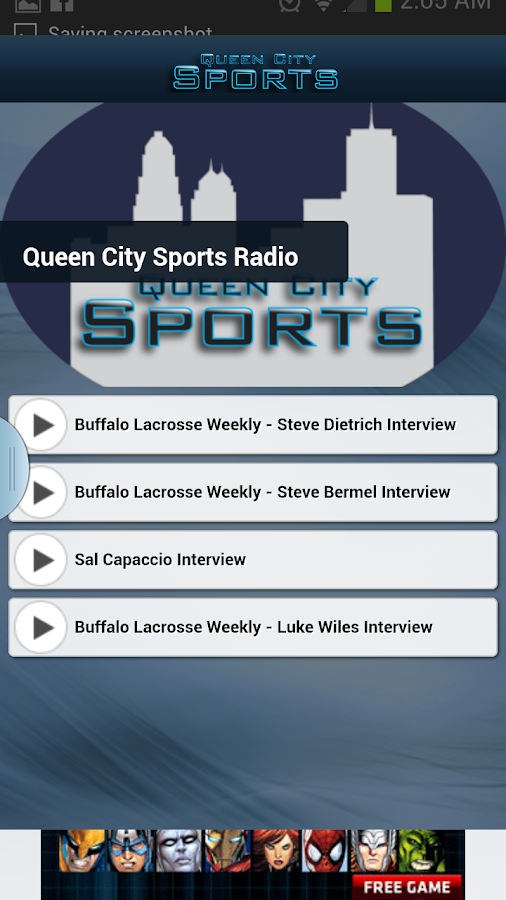 Queen City Sports - screenshot