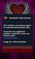 Screenshot of Romantic Scanner