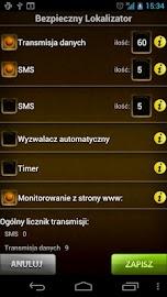 Bezpieczny Lokalizator 3.5 Screenshot 2