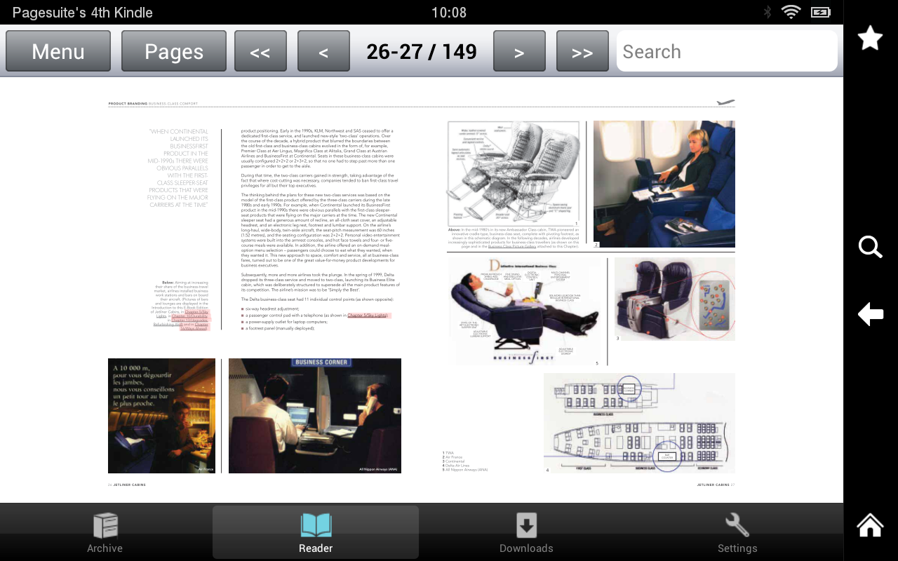 JETLINER CABINS- screenshot