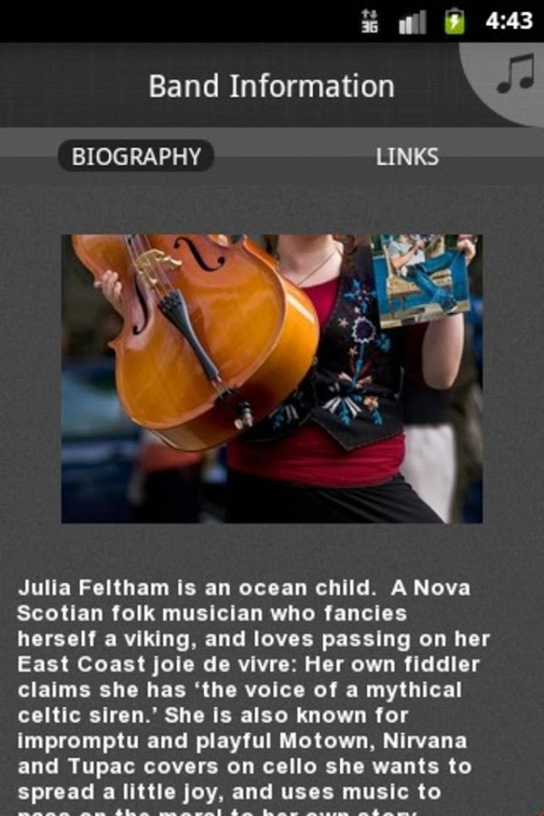 Julia M. Feltham- screenshot