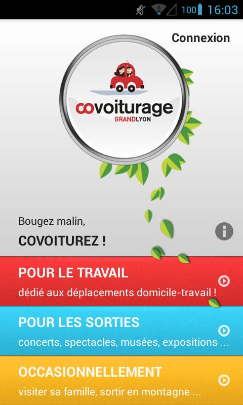 Grand Lyon Covoiturage - screenshot