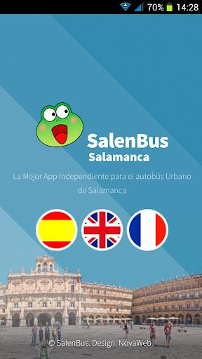 SalenBus Paradas Salamanca