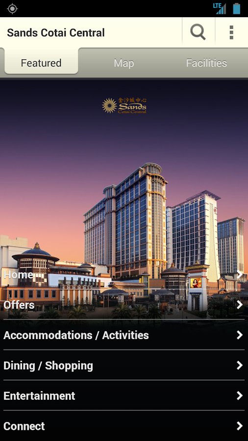 Cotai Strip Resorts Macao - screenshot