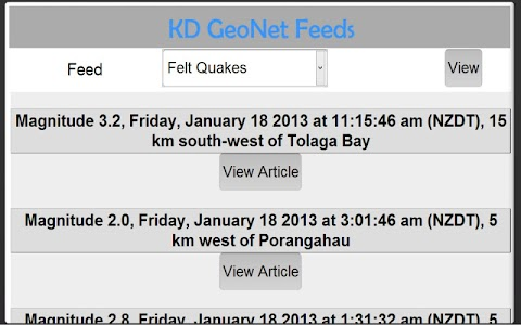 KD Geo Net Free screenshot 1