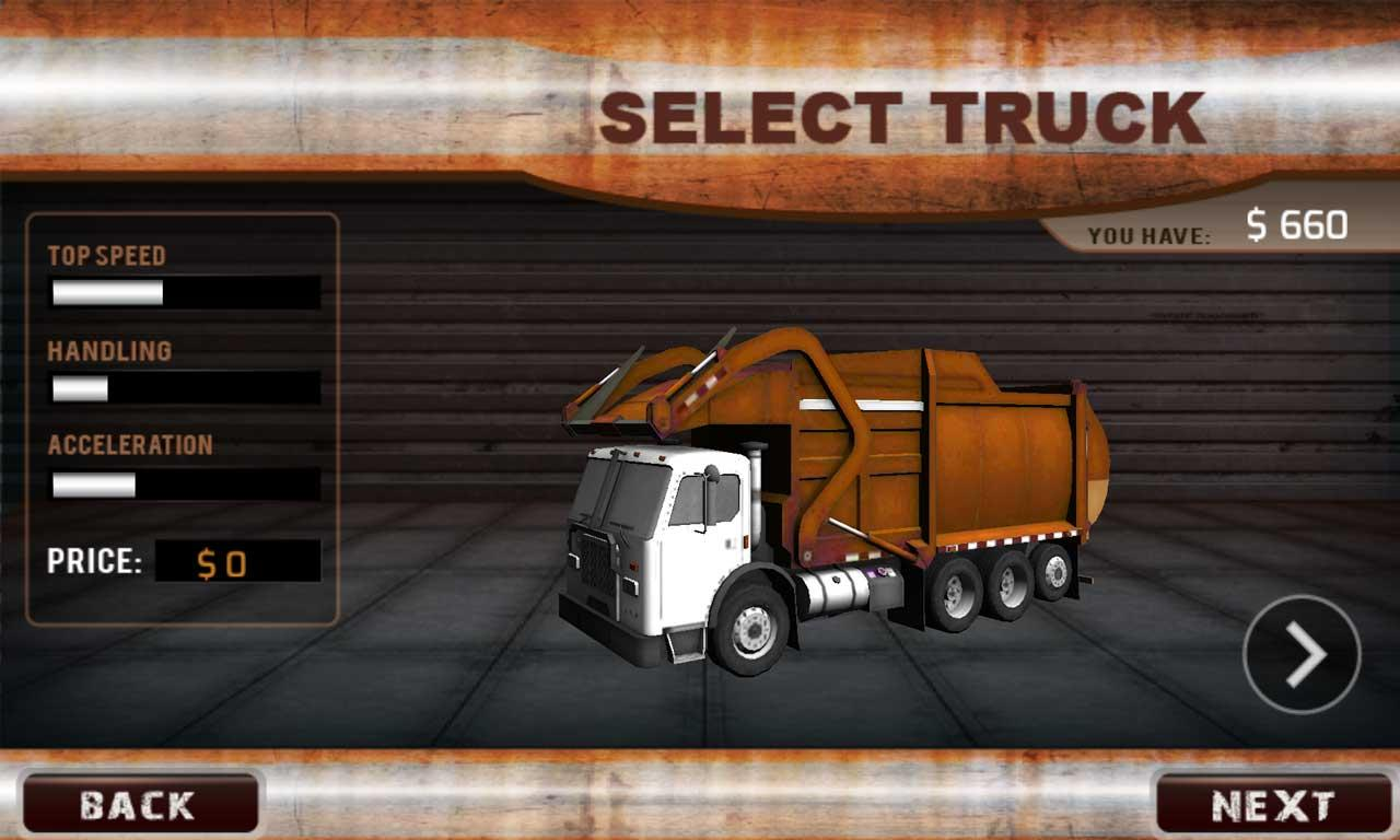 3d garbage truck driver android apps on google play
