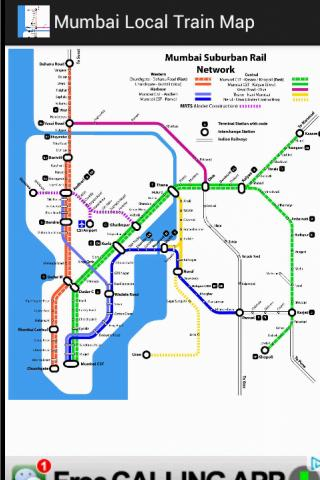 Mumbai Local Train Map Google Play Store Revenue Download - Us google rail map