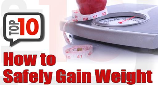 Gain Weight Fast Tip