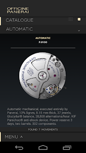 Officine Panerai Catalogue2015- screenshot thumbnail