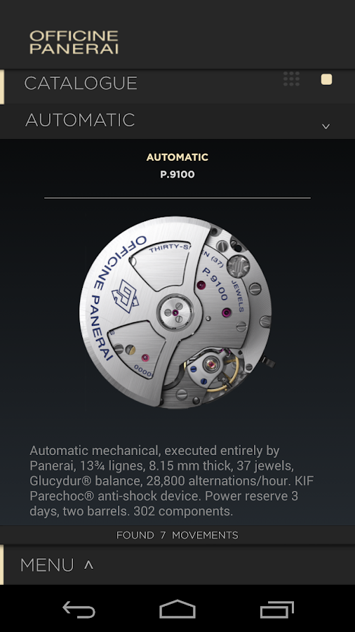 Officine Panerai Catalogue2015- screenshot