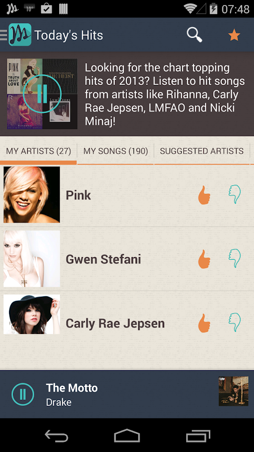 Myxer Ringtones & Radio (BETA) - screenshot